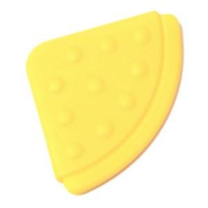 Angle de dentition à coudre, coloris jaune pâle