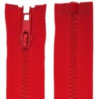 Fermeture éclair Rouge, 95 cm séparable
