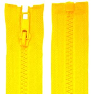Fermeture éclair Jaune Bouton d'or, 95 cm séparable
