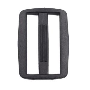 Boucle coulisse pour sac, 45mm coloris noir