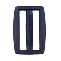 Boucle coulisse pour sac, 45mm coloris Bleu Marine