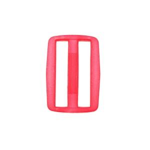 Boucle coulisse pour sac, 30mm coloris Rose Fushia Flashy