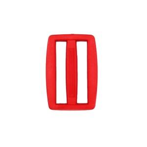 Boucle coulisse pour sac, 30mm coloris Rouge