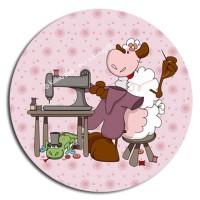 Modèle Mouton couturier