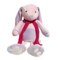 Kit de couture lapin Ornella, patron de peluche à coudre et mercerie inclus