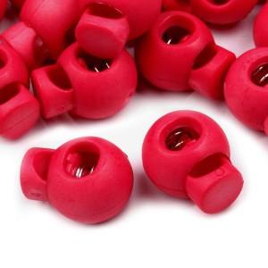 Arrêt de cordon, stop cordon, coloris rose framboise soutenu (lot de 2)