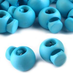 Arrêt de cordon, stop cordon, coloris bleu (lot de 2)