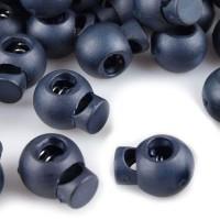 Arrêt de cordon, stop cordon, coloris bleu marine (lot de 2)