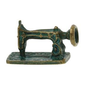 Perle Machine à coudre , en volume, coloris bronze antique, à l'unité
