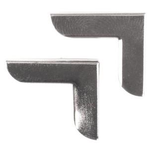 mercerie en ligne angle en metal pour protection rabat sac fait main. Black Bedroom Furniture Sets. Home Design Ideas