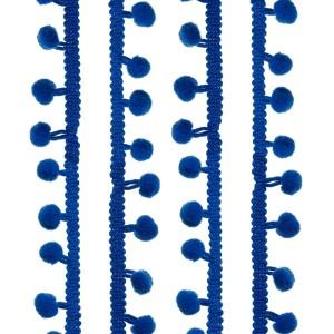 Galons petits Pompons, coloris bleu marine