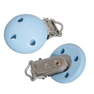Clip attache Tétine, coloris bleu clair (1 pièce)