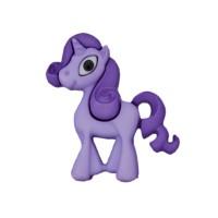 Bouton licorne violette