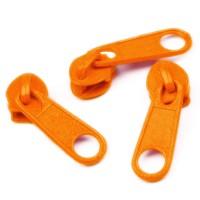 Curseur Orange pour Fermeture éclair vendue au mètre (pour maille de 3mm)