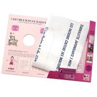 Pochette Papier du Patron uniquement de couture de la Turbulette Japonisante de 3 à 24 mois (PAS de brochure tutoriel Inclus!!)