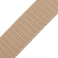 Galon sangle beige, 30 mm