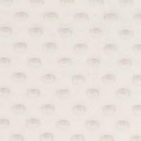 Minky Dot, coloris Blanc Cassé (x 50 cm)
