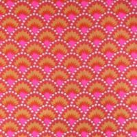 Tissu Wasabi Rouge, par Petit Pan (x 50cm)
