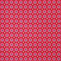 Tissu Mikko Rouge, par Petit Pan (x 50cm)