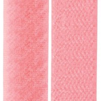 Velcro coloris rose perle, scratch ( x 50cm)