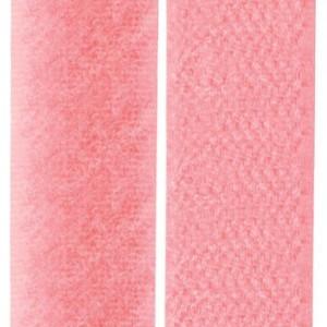 Velcro coloris rose perle, scratch ( x 50cm)