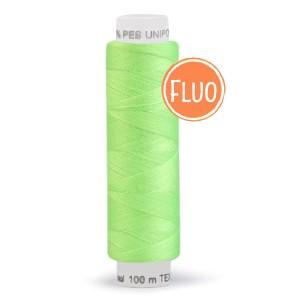 Bobine de fil vert fluo clair, 100m