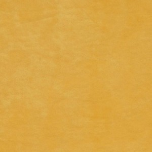 Velours de coton, coloris jaune moutarde (x 50 cm)