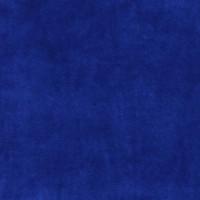 Chute de 19 cm Velours de coton, coloris bleu roi