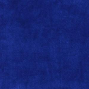 Chute de 30 cm Velours de coton, coloris bleu roi