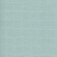Lange coloris vert celadon, en coton (x50 cm)