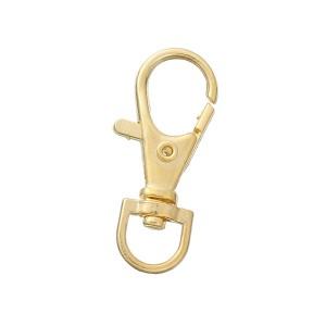 Mousqueton pivotant or, 8mm, attache pour sac
