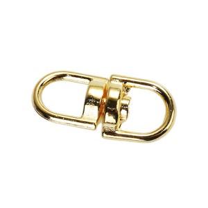 Boucle connecteur pivotant, métal, 9mm or (lot de 4)