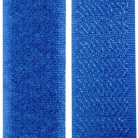 Velcro bleu royal, scratch ( x 50cm)