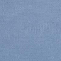 Chute de 30 cm Velours de coton, coloris bleu jean