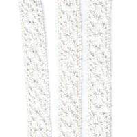 Dentelle coloris blanc crème, largeur 14mm