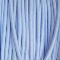 Élastique rond 3 mm bleu ciel