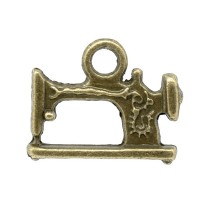 Perle Machine à coudre, coloris bronze, à l'unité