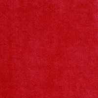 Chute de Velours de coton, coloris rouge : coupon de 46 x 148cm