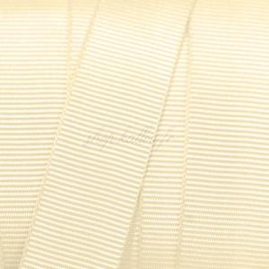 Gros Grain crème, 15mm