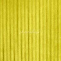 Tissu Minky doudou cotelé 5mm, coloris moutarde, très doux