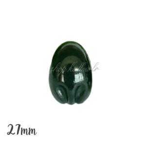 Nez sécurité Noir, motif Koala, 27mm pour peluche (lot de 2)