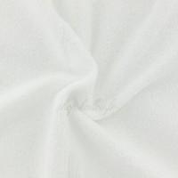 Tissu éponge de bambou, coloris blanc, oeko tex (x 25cm)