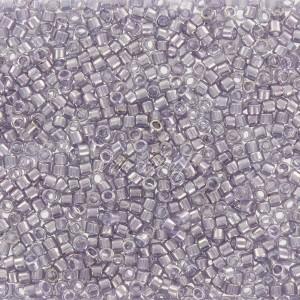Perles rocaille Toho Treasure 11/0 gris brillant gunmetal, tube de 3g, ref TREASURE 455