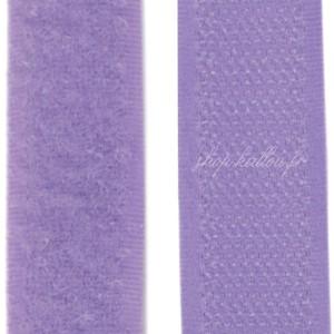 Velcro violet lavande clair, scratch ( x 50cm)