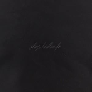Tissu pour doublure coloris noir, belle qualité (x 50 cm)