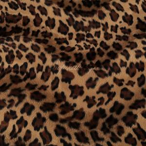 Tissu fausse fourrure Léopard ( x 50 cm)