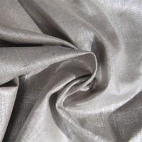 Chute de 40 cm de Tissu Lin argent