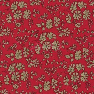 Liberty Capel rouge, Liberty of London qualité Tana Lawn (x 25 cm)