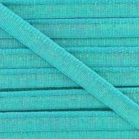 Passepoil lamé turquoise