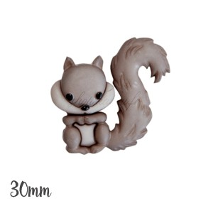 Grand Bouton écureuil, 23mm